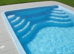 Schwimmbecken pool modelle for Schwimmbecken polyester