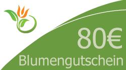 Blumenstrauss 80 Euro Blumengutschein