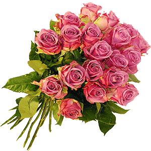 Blumenstrauss Rosenstrauß Cool Water