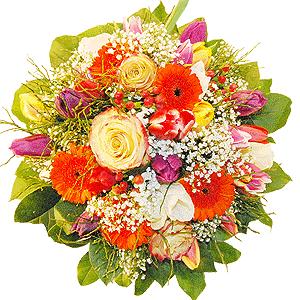 Blumenstrauss Einfach nur Frühling