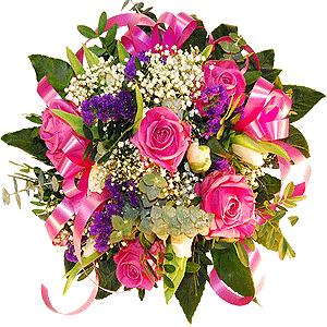Blumenstrauss Pink Panther