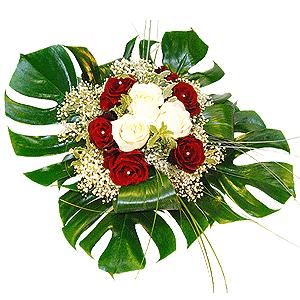 Blumenstrauss Rotweißchen