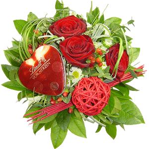 Blumenstrauss Von Herzen