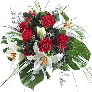 Blumenstrauss Danke Mama