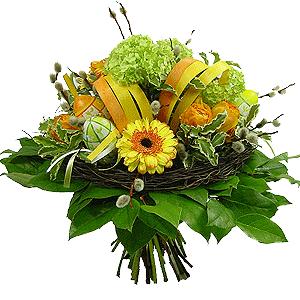 Blumenstrauss Osternest