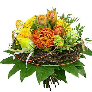 Blumenstrauss Ostertraum