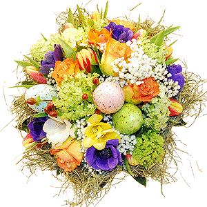 Blumenstrauss Bunte Ostern