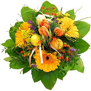 Blumenstrauss Eierblüten - Blüteneier