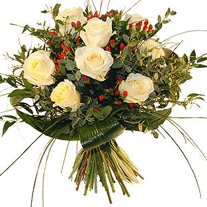 Blumenstrauss Blumenstrauß Schneeweißchen