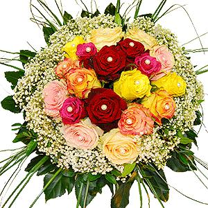 Blumenstrauss Rosenstrauß Grandesa