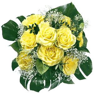 Blumenstrauss Rosenstrauß Shining Sun