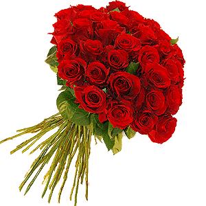 Blumenstrauss Rosenstrauß Sexy Red