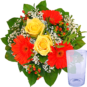 Blumenstrauss Blumenstrauß Mitbringsel 2