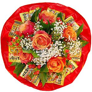 Blumenstrauss Naschkatze