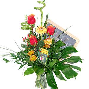 Blumenstrauss Schreiben, Lesen ...
