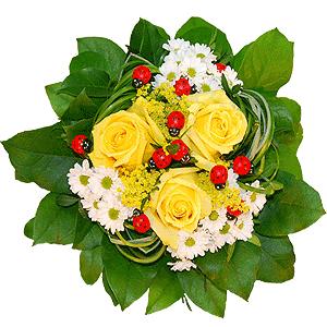 Blumenstrauss Kribbelnde Zuversicht