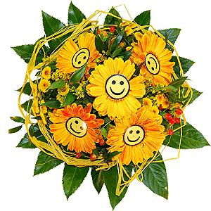 Blumenstrauss Lachender Hermann