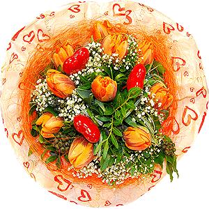 Blumenstrauss Blumenstrauß Frühlingsgefühle