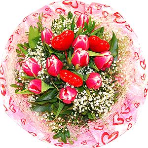 Blumenstrauss Blumenstrauß Frühlingsgefühle 2