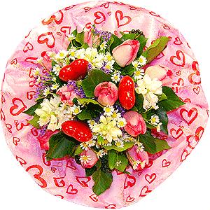 Blumenstrauss Blumenstrauß Valentines Spring