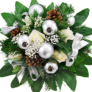 Blumenstrauss Blumenstrauß Silver
