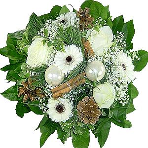 Blumenstrauss Blumenstrau� Schneeflocke