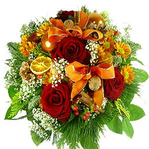 Blumenstrauss Blumenstrauß Xmas