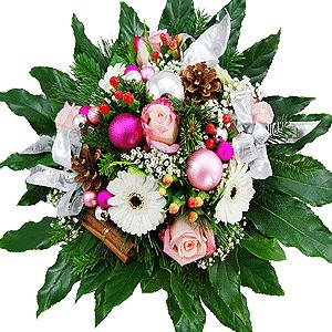 Blumenstrauss Weihnachtszauber