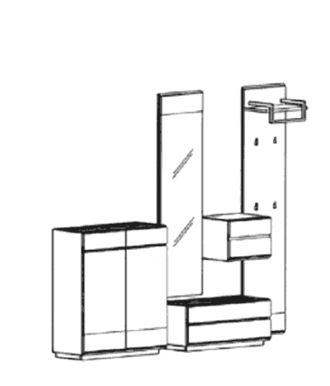 Carat Set 2 - Weiß