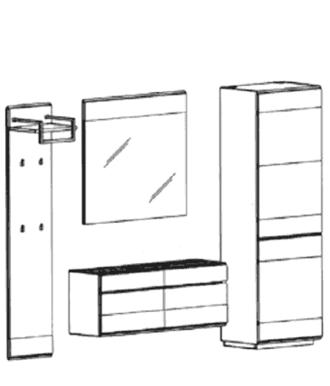 Carat Set 6 - Weiß