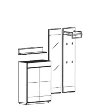 Carat Set 9 - Weiß