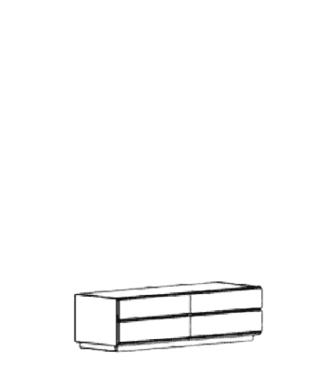 Carat Sitzbank Typ 834 - Weiß