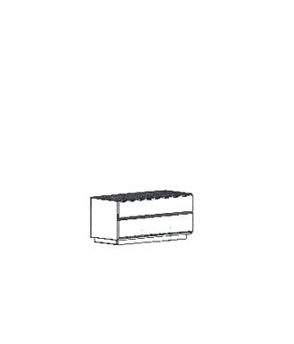 Cosima Dielenschrank Typ 832 - stehend