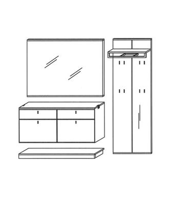 Vado Garderoben Set 10