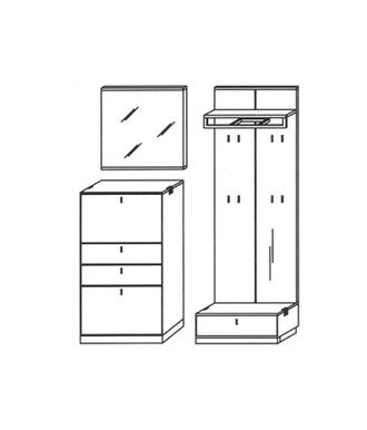 Vado Garderoben Set 11