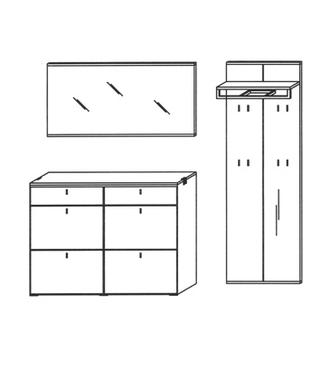 Vado Garderoben Set 12