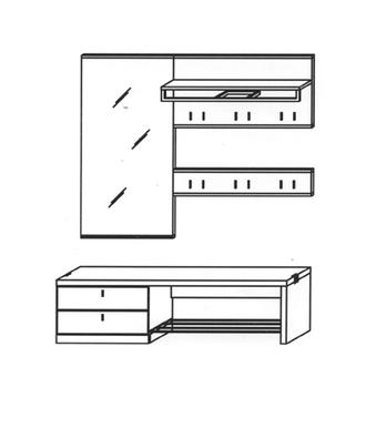 Vado Garderoben Set 1