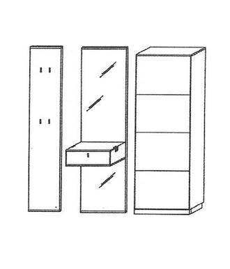 Vado Garderoben Set 6