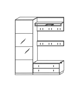 Vado Garderoben Set 7