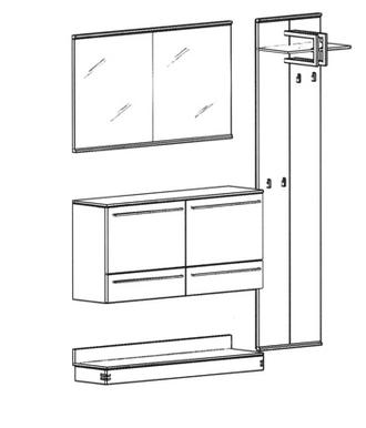 Talis Garderoben Set 2