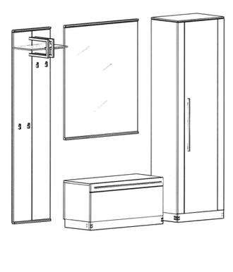 Talis Garderoben Set 7