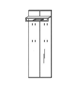 Vado Garderobenpaneel Typ 511