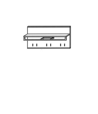 Vado Garderobenpaneel Typ 515