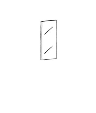 Cade Spiegel Typ 612 - Basalt