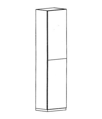 Cade Mehrzweckschrank Typ 110 L - Granit