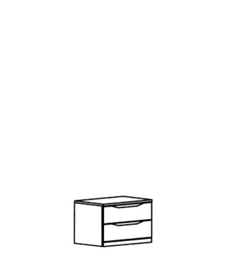 Paso Schubkastenteil Typ 202 - Weiß