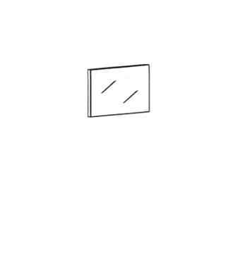 Cade Spiegel Typ 613 - Granit