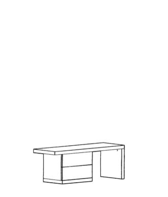 Cade Bank Typ 412 - Granit