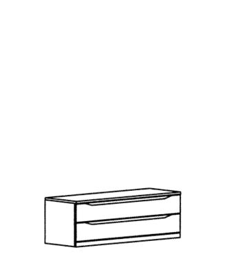 Paso Schubkastenteil Typ 902 - Kernbuche