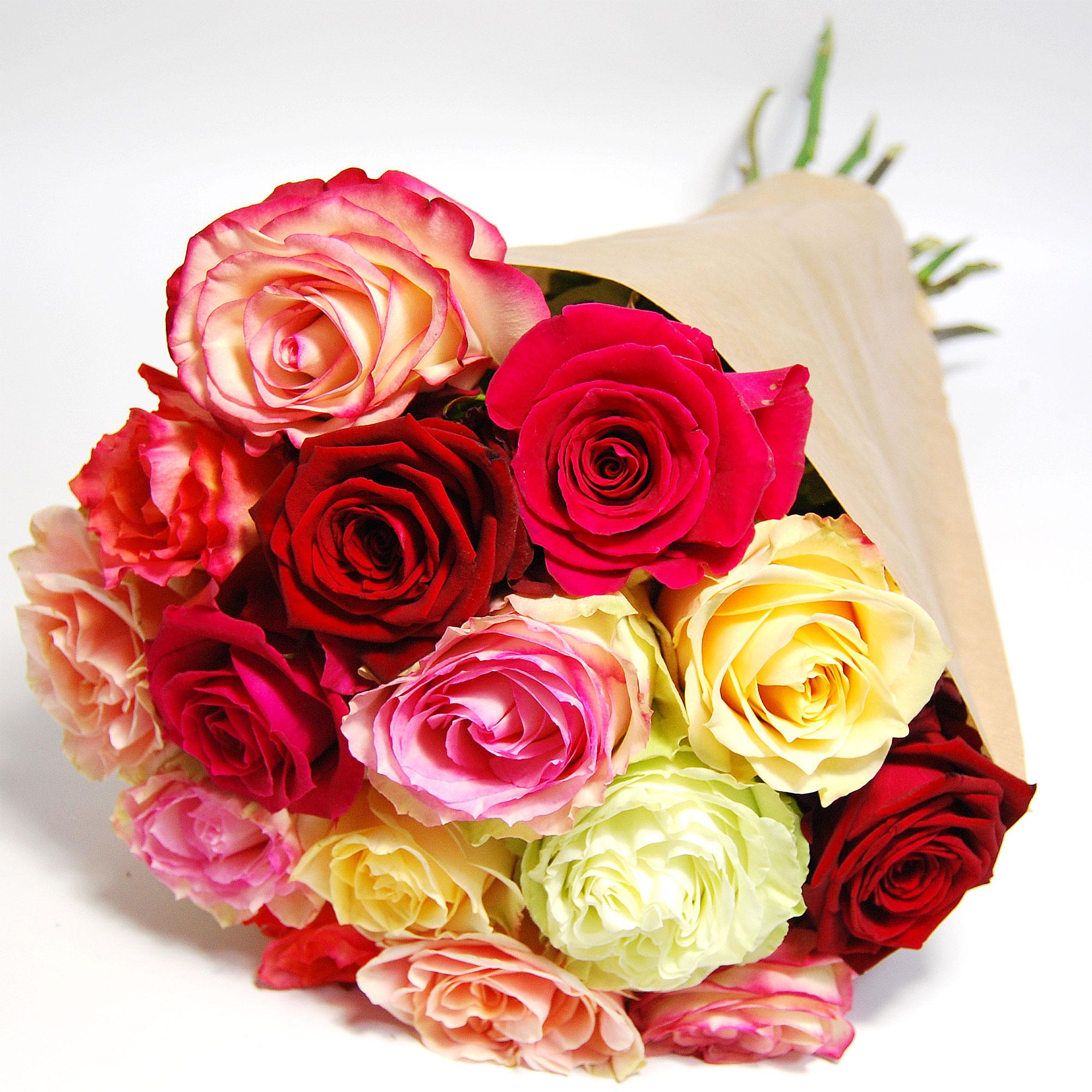Blumenstrauss Rosenstrauß Rosen im Mix